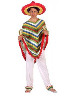 ATOSA 12324 costume messicano, adulto t-4.