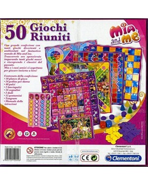 clementoni 12040 50 giochi riuniti mia and me esclusiva