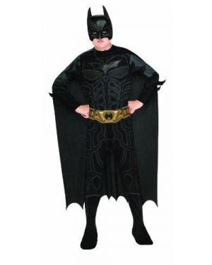 RUBIES 881286L COSTUME BATMAN 8/10 DARK KNIGHT SENZA MUSC