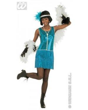 Costume Charleston S Vestito In Paillettes,Fasc