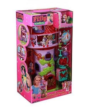GRANDI GIOCHI GG02507 filly pony swarovski torre di butterfly +accessori