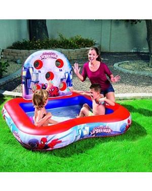 bestway 98016 spiderman playcenter piscina 170l con 6 palle