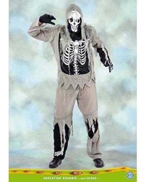 Costume Skeleton Zombie Xl