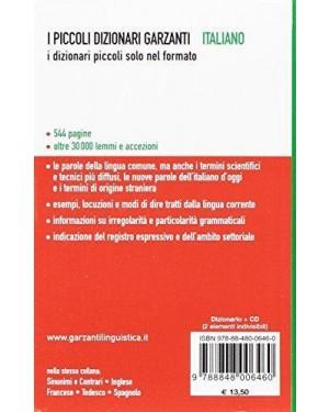 GARZANTI  dizionario italiano i piccoli garzanti con cd