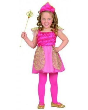 Costume Principessa 1/2 2/3 98-104 Cm