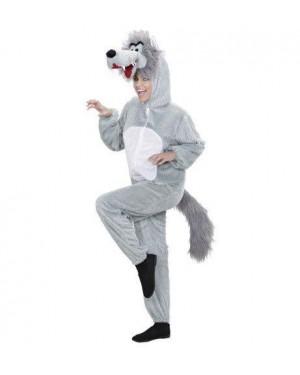 WIDMANN 9966C costume lupo peluche xl cappuccio maschera