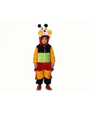 ATOSA 93970 costume bruco multicolore. 3-4