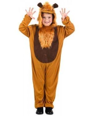 Costume Da Leone 7-9 Anni T-3 Bambino