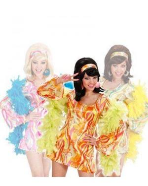 Costume 70S Mod Chick S Ass.In 3 Colori Vestito