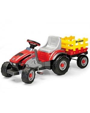 PEG PEREGO IGCD0529 trattore mini tony tigre con rimorchio