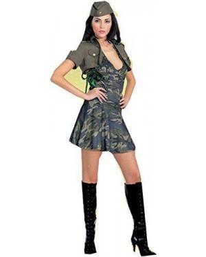 Costume Soldatessa T.U. Mimetica
