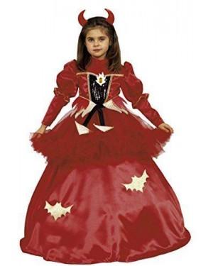 Costume Topina Spagn Diavol 4/6 Tre In Uno
