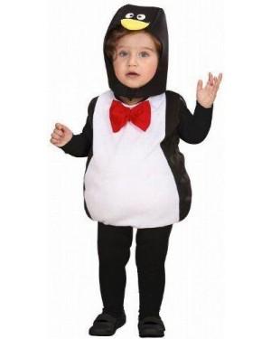 Costume Pinguino Paffuto 104Cm 1-3 Anni