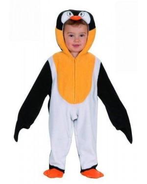 Costume Pinguino Con Copricapo 90 Cm