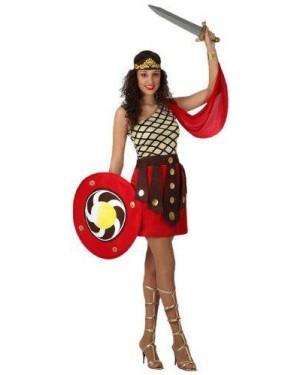 Costume Gladiatore Donna, Adulto T2 M\L