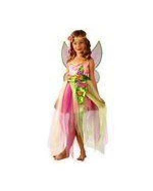 Costume Trilli Rosa 4/5 5/7 Farfalla