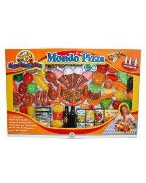 GIOCHERIA RDF50441 funny home mondo pizza 114 pezzi
