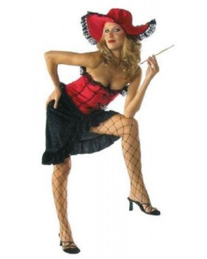 Costume Saloon Girl Can Can M