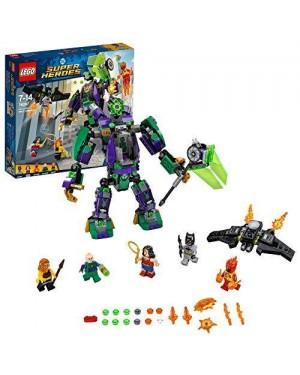 LEGO 76097 lego super heroes duello robotico con lex luthor#