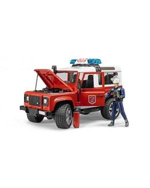 BRUDER 02596 bruder land rover defender pompieri