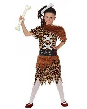 Costume Bambina Cavernicola, T- 1