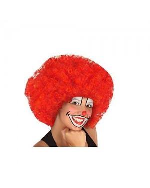 ATOSA 31800 parrucca clown gigante rossa