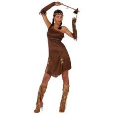 ATOSA 10227 costume indiana pelle rossa donna t-1