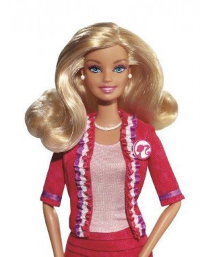 MATTEL X2930 barbie  i can be presidente