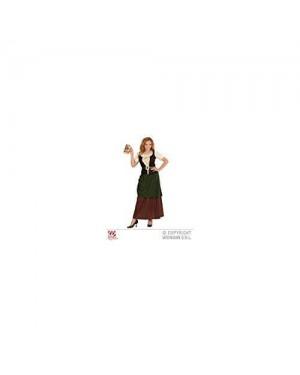 Costume Locandiera Medioevo M Camicia +Gonna