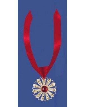 widmann 1695l set collana con medaglione e gemma vampiro
