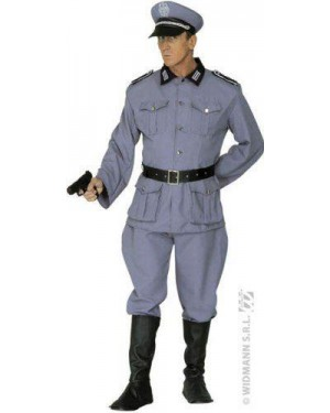 WIDMANN 3213D costume soldato tedesco con giacca, pantaloni, cin