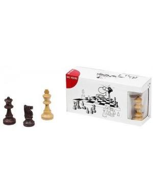 DAL NEGRO 54291 set solo scacchi legno 75/60mm
