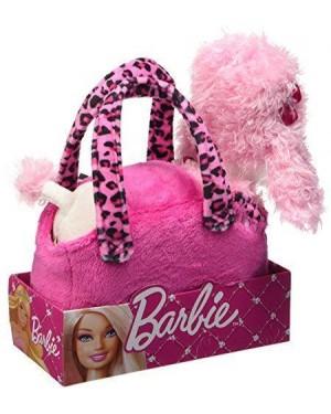 venturelli 770401 borsetta barbie con cagnolino peluche fashion