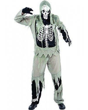 Costume Skeleton Zombie L