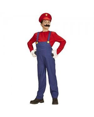 WIDMANN 08707 costume super mario 8/10 140cm