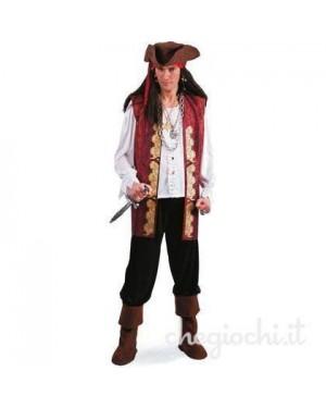 Costume Pirata Tg.Xl In Busta