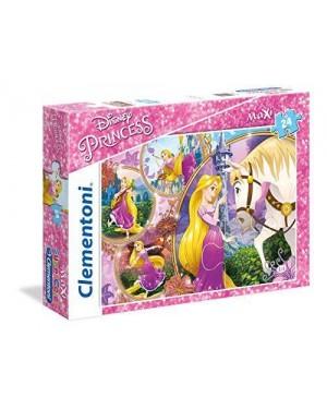 CLEMENTONI  puzzle maxi 24 pz - rapunzel
