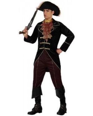 Costume Pirata, Adulto T-2 Uomo