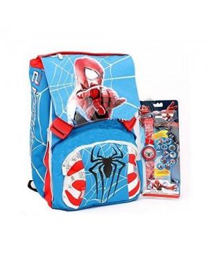 seven 204001401 zaino estensibile spiderman 2 the amazing c/gadget