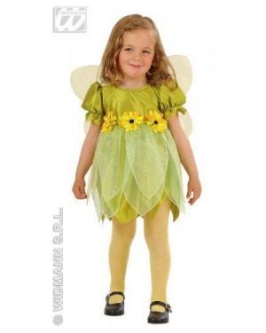 Costume Fatina Dei Fiori Verde 1/2 2/3