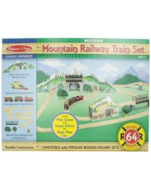 MELISSA E DOUG 10611 pista treno legno gigante montagne tunnel