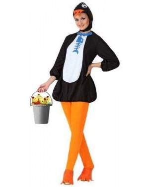 Costume Pinguino Donna, Adulto T. 1