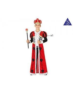 Costume Re Di Cuori Bimbo T4 10-12 Anni