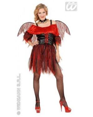 WIDMANN 58263 costume baroque devil l vestito con corsetto-al