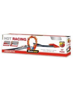 motorama 48935 pista mini abarth hot racing 17 pz