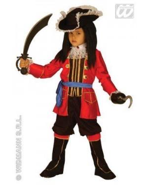 WIDMANN 33497 costume capitano pirata 8/10 cm 140
