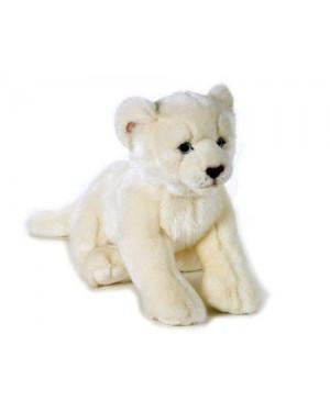 venturelli 692019 peluche leone bianco medio