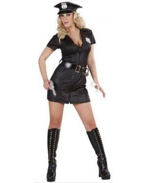 Costume Poliziotta L Vestito,Cintura ,Cappello