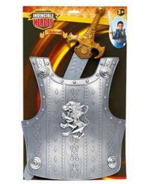 GIOCHERIA RDF50878 invincible heroes spada set armatura e spada caval