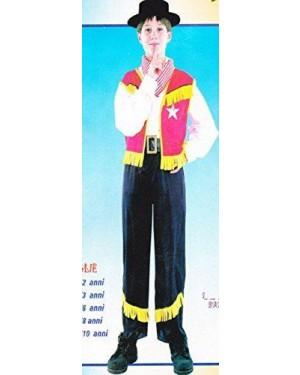 Costume Cowboy 9/10 Tg L